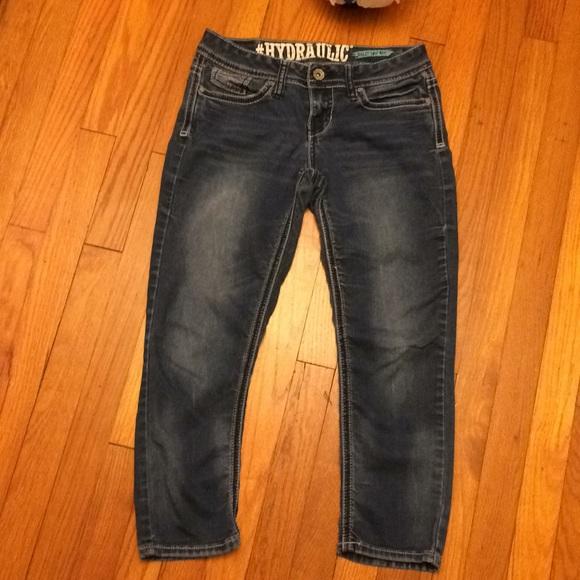 1a2c8ad887e Hydraulic Denim - Hydraulic Bailey Low Rise crop jeans